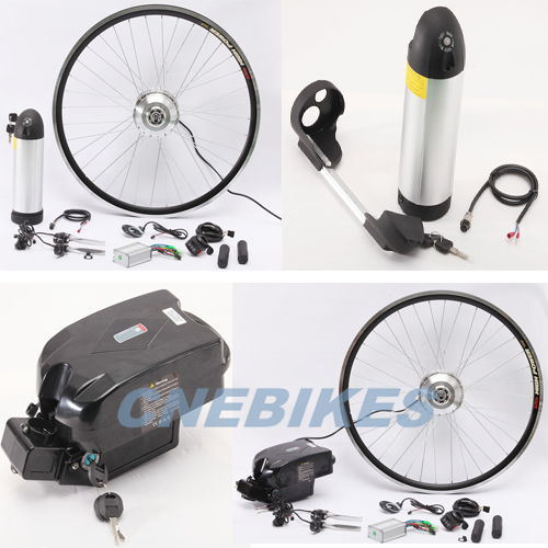 CE 36V Brushless Geared Electric Bike Kit with Lithium Battery pictures & photos