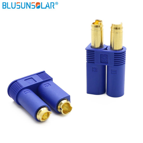 High Quality EC5 Battery Connectors with Blue Housing