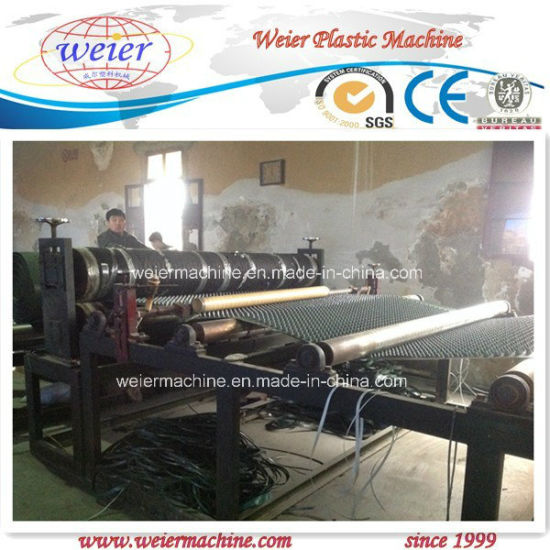 HDPE Drainage Sheet Production Line Drainaige Membrane Waterproof Drainage Board Extrusion Machine