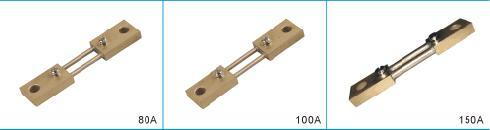 Manganin Shunt with DC Ammeter 80A Class 0.5 Resistor