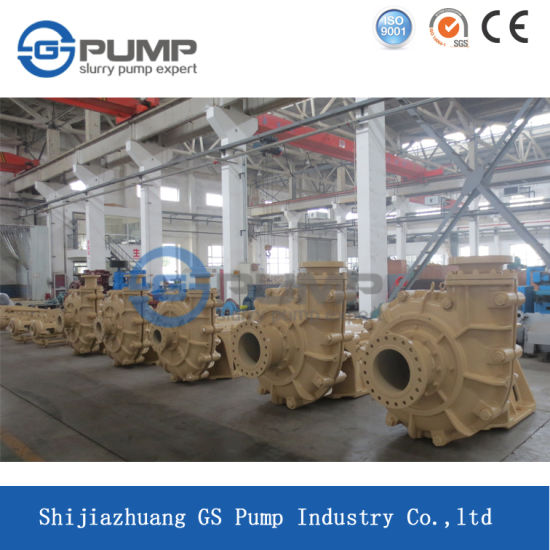 Heavy Duty Filter Press Feed Centrifugal Small Slurry Acid Pump pictures & photos
