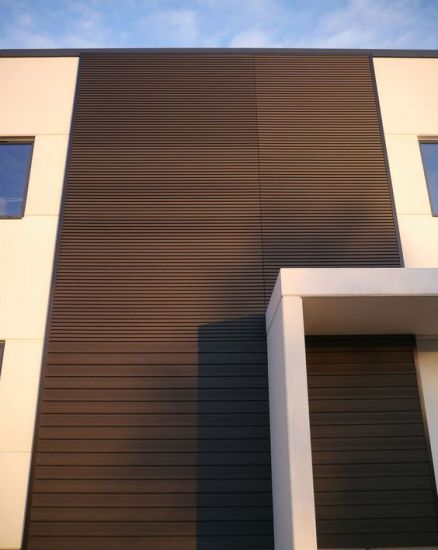 Outdoor Wood Plastic Composite Wall Panel pictures & photos