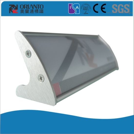 Aluminium Convex Name Board Sign Board