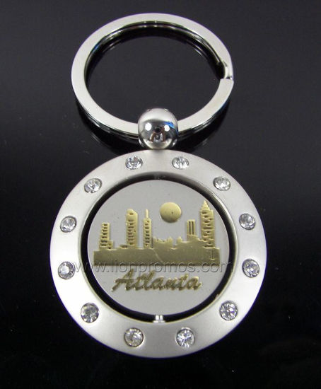 Senic Spot Tourism Souvenir Zinc Alloy Metal Keyring pictures & photos