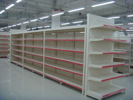 Heavy Duty Supermarket Gondola Shelf (JT-A08)