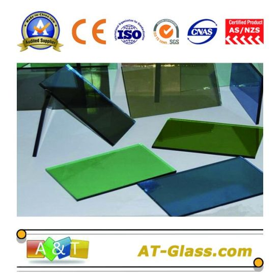 4, 5, 6, 8, 10mm Reflective Glass/Coated Glass/Tinted Float Glass/Building Glass Used for Curtain Wall pictures & photos