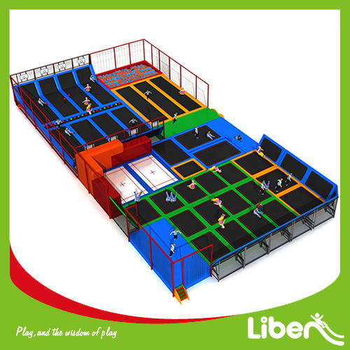 Hot Sale Good Price Indoor Fitness Equipment Trampoline pictures & photos