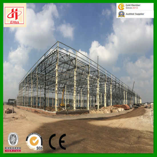 Steel Prefabricated Building with SGS Standard From China (EHSS011) pictures & photos
