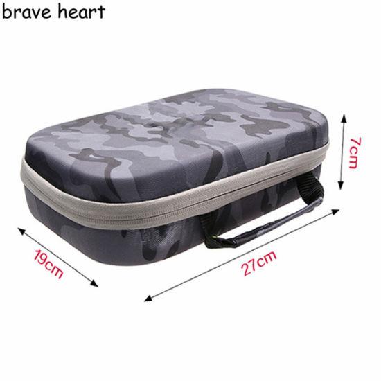 Camera Storage Bag Waterproof Camouflage EVA Bag Case for Xiaomi Yi 4K Gopro Hero 5 4 Sjcam Sj4000 Sj6 Sj7 Camera Accessories