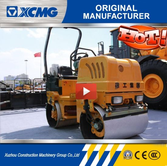 XCMG 1.6t Light Vibratory Double Road Rollers Xmr15s pictures & photos