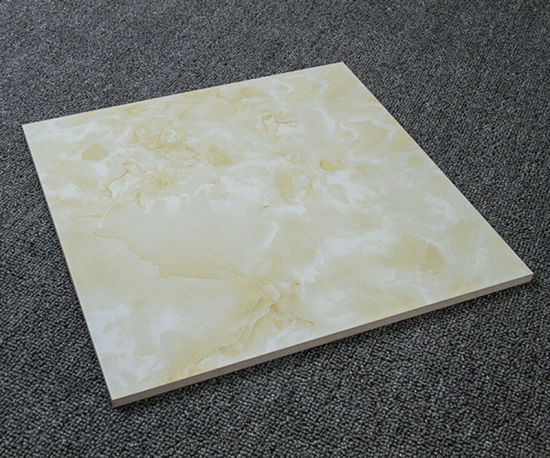 China 2017 Foshan Nice White Marble Design Polished Ceramic Floor