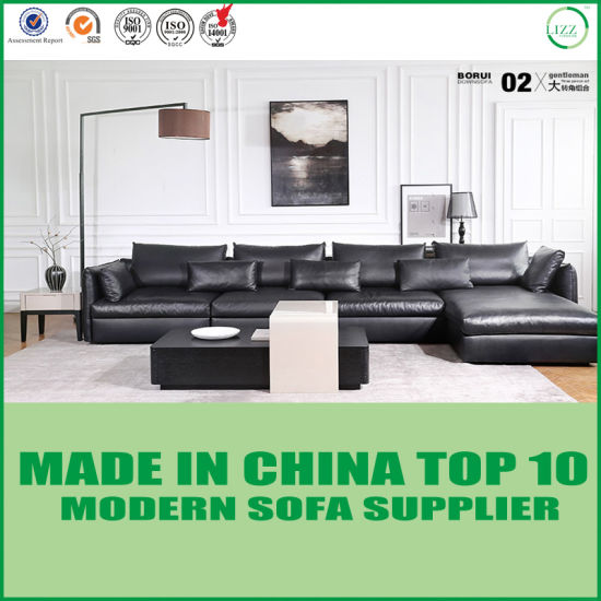 Modular Living Room Love Seats Leather Corner Sofa Bed pictures & photos