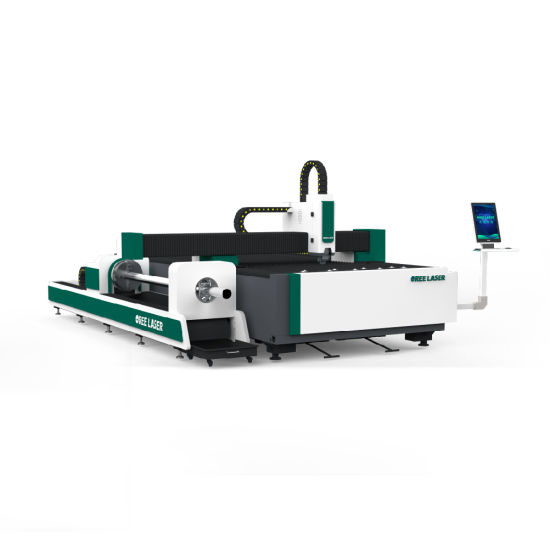 Sheet and Pipe Dual Use Fiber Laser Cutting Machine 1KW - 6KW laser cutter