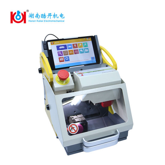 Modern Fully Automatic Key Cutting Machine Removable Tablet PC Sec-E9 for Automobile and Household Key pictures & photos