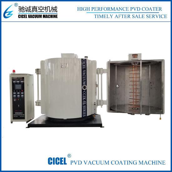 Plastic Cutlery Evaporation Vacuum Coating Machine