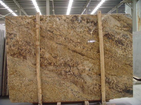 Golden Persa Granite Polished Tilesu0026Slabsu0026Countertop
