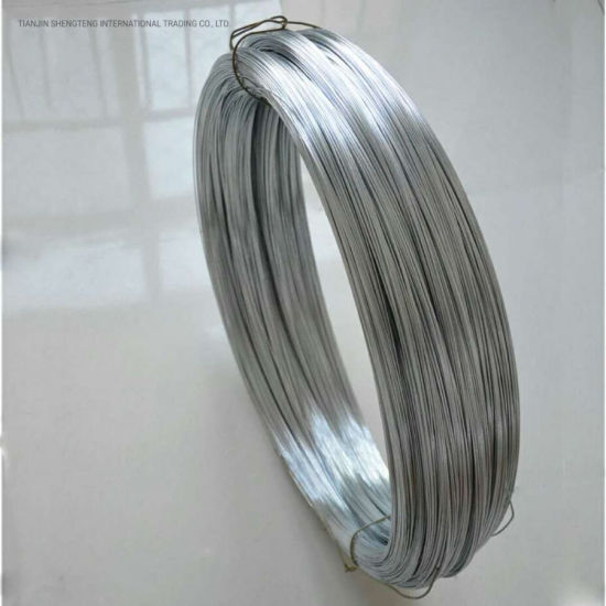 China Shengteng Brand High Quality Electric Galvanized Steel Wire