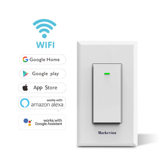 china smart wifi light switch works with alexa google assistant home china smart switch wifi. Black Bedroom Furniture Sets. Home Design Ideas