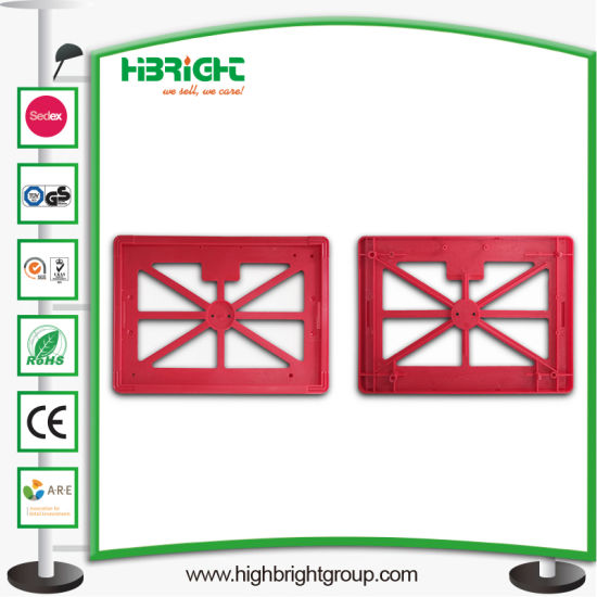 Supermarket Plastic Advertising Sign Holder and Front Board pictures & photos