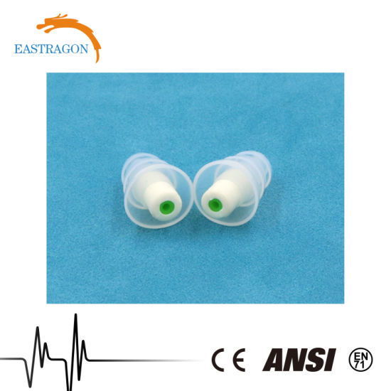 Wholesale Silicone High Quality DJ Music Earplug for Noise pictures & photos