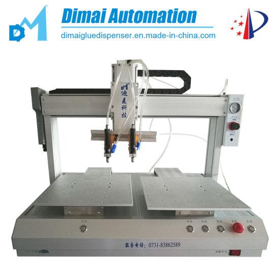 Double Station Automatic Hot Melt Adhesive Glue Dispensing Machine