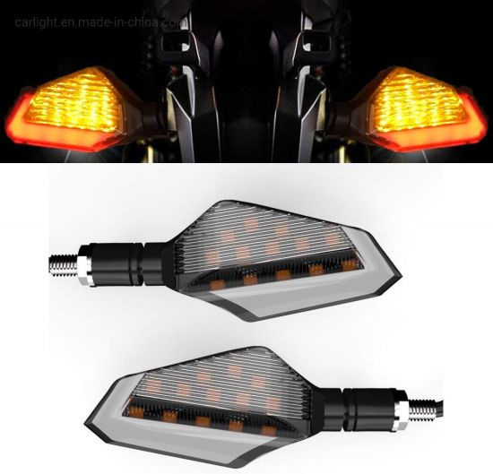 12V Car Motorcycle Motorbike Rear LED Tail Light Brake Turn Signal Indicators