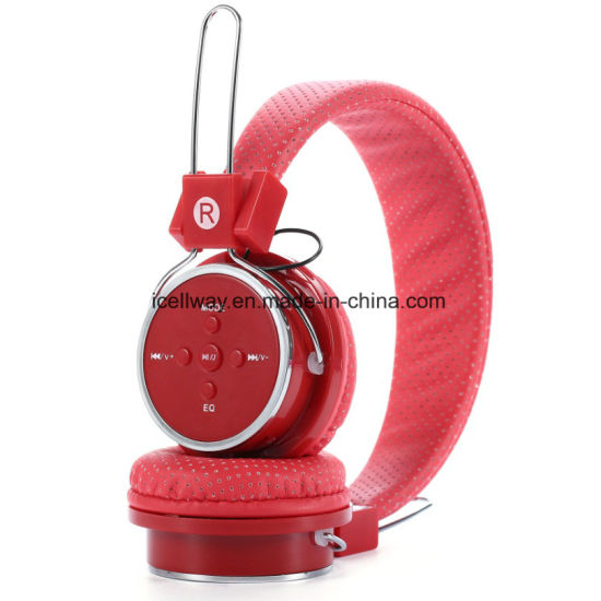 FM Stereo Radio Headphones Support MP3 Player Bluetooth Headphones pictures & photos