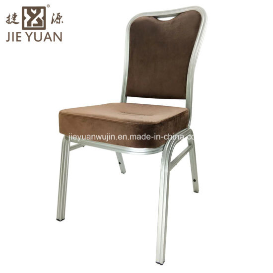 Hotel Aluminium Stacking Dining Room Chairs (JY B14)