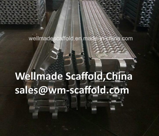 320mm Layher Allround System Scaffolding Steel Deck/Plank/Platform Ringlock Scaffold