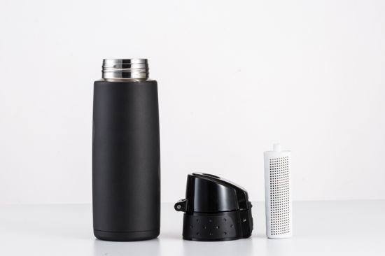 Thermos Alkaline Water Bottle with Dual Filters, Cheap Cost pictures & photos