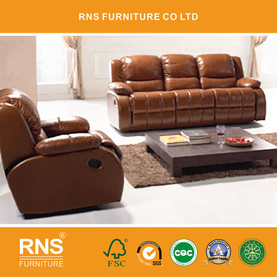 2017 Hot Sell Leather Functional Recliner Sofa 623#