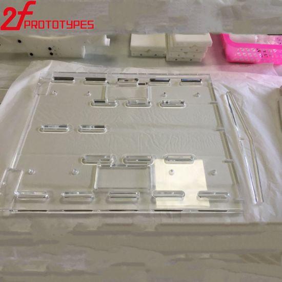 Plastic Transparent Clear High Polished Acrylic PMMA Plastic CNC Parts