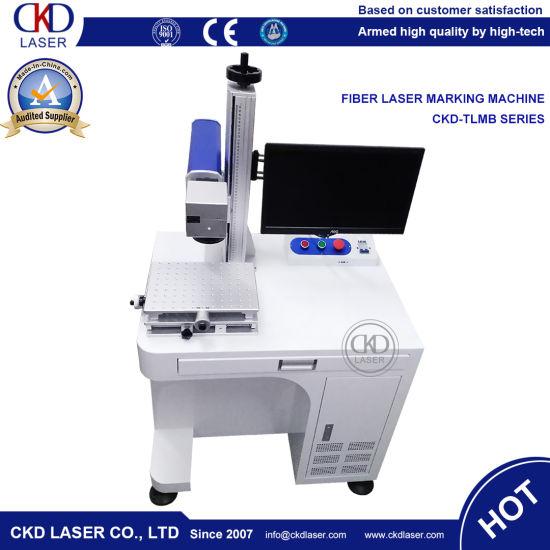 Worktable Fiber Laser Marking Machine for Wrist Watch Expiry Date Print Mark
