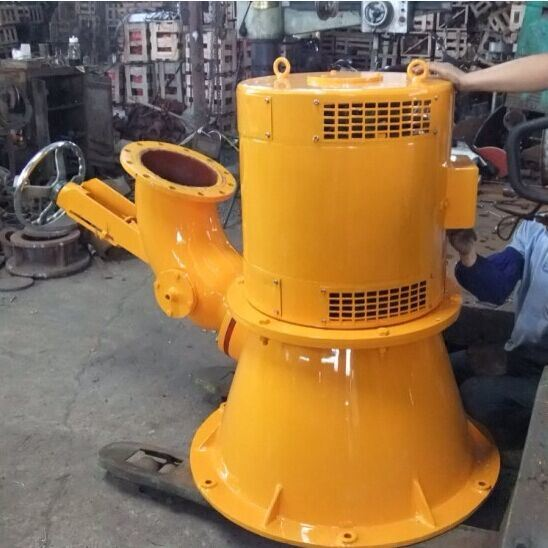 (5KW_15KW) Coil Pipe Four Nozzle Incline Jet Water Turbine Generator pictures & photos