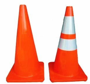 Popular Customized Flexible Road Traffic Cone for Safety