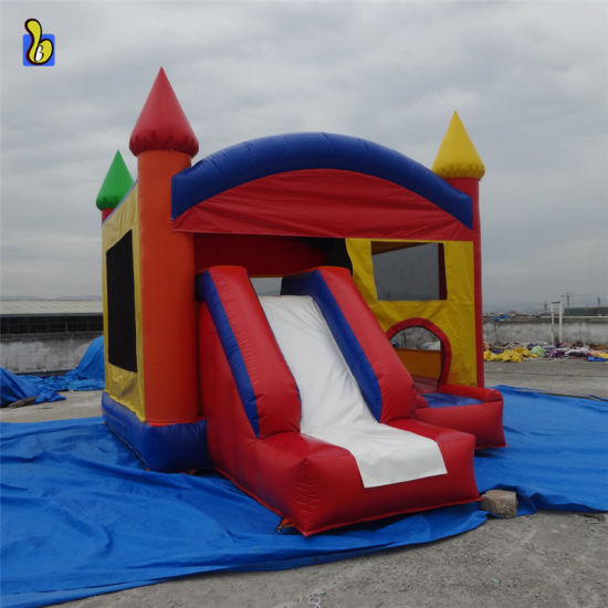 Hot Sale Inflatable Bouncer, Inflatable Castles with Slide B3062