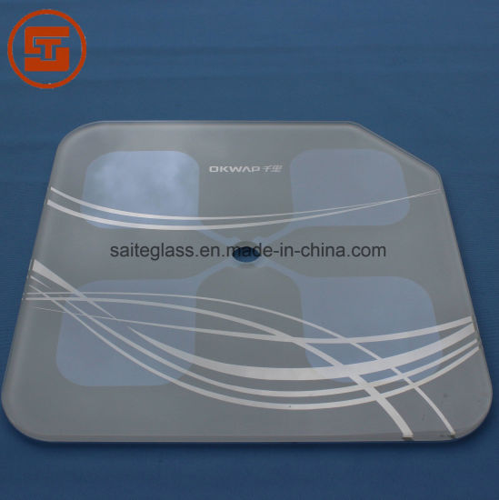 OEM ITO Tempered Electronic Body Fat Weighing Bathroom Scale Top Panel