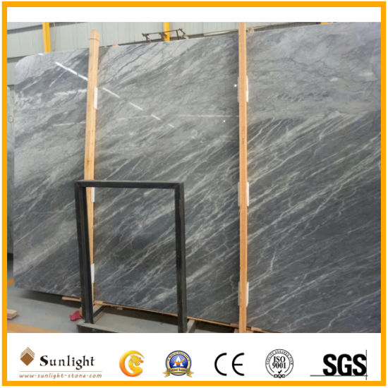 China Hot Sale Carrara Grey Marble Stone For Wall Tile Countertops