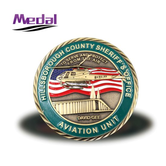 Custom High Quality USA Army Solider Challenge Coin