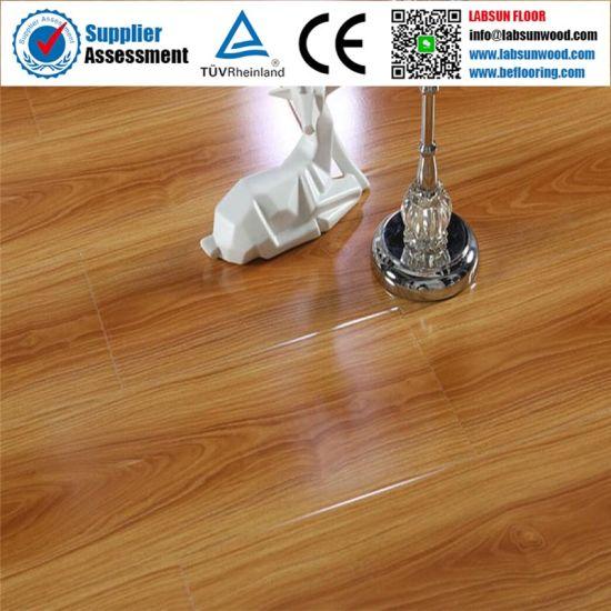 China 8mm 10mm 12mm Self Adhesive, Adhesive Laminate Wood Flooring