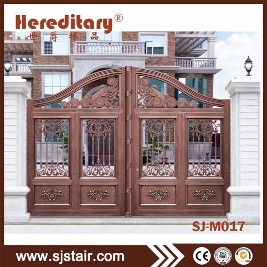 Luxury Indian House Gate Design And Villas Aluminum Gate Price