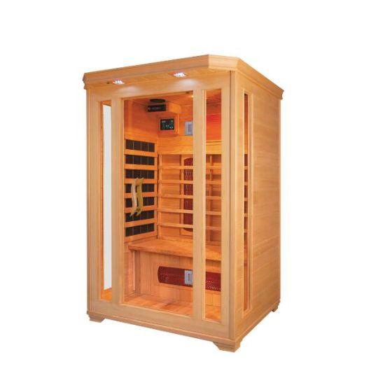 Luxury Home Sauna Room Far Infrared Sauna Room for 2 People (QD-C2)