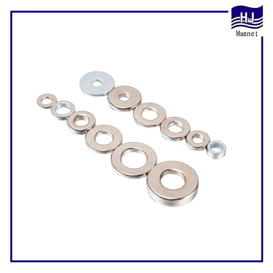 Permanent Ring Strong Cylinder Nickel Neodymium Magnet
