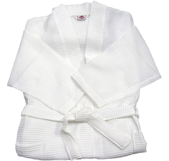 28504ca1d8 Wholesale Hotel Supplies Luxury 100% Cotton Terry Bathrobe Waffle Robes