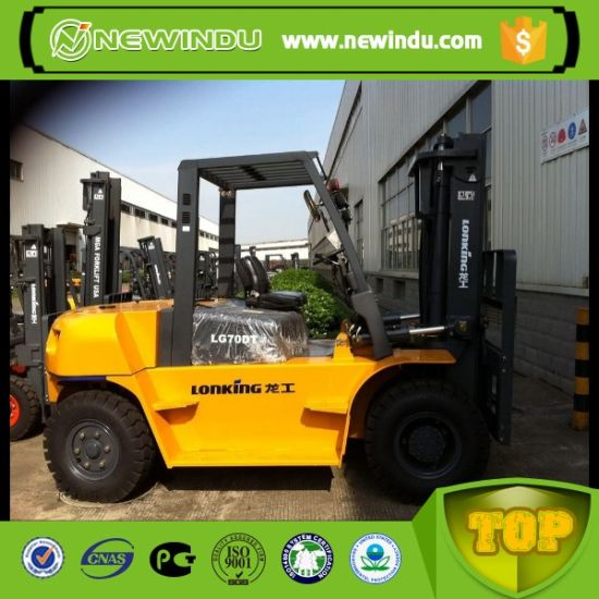 Manual Diesel Forklift 7 Tons Lonking Forklift Price LG70dt pictures & photos