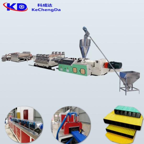Plastic Foaming PE/HDPE Ocean Marine Pedal Profile Board Extruding Equipment