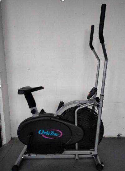Bicicleta Eliptica Gimnasia Estatica Entrenador Cardio Gimnasia Con Pantalla LCD