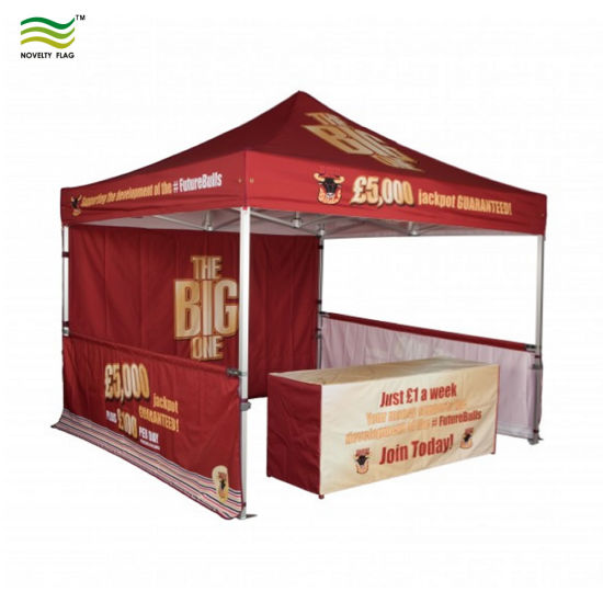 China 3x3m 3x45m 3x6m Custom Advertising Display Booth Popup Canopy