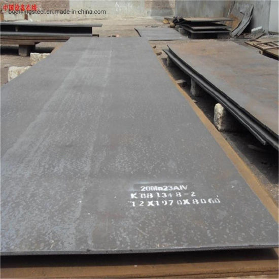 Metal Material A516/517 Gr70 Alloy Low Carbon Steel Plate for Construction