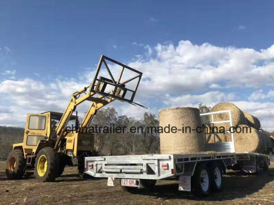 Excellent Quality! 12X7 Flat Bed Top Trailer /Uitlity Trailer